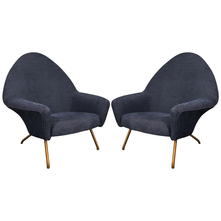 Joseph André Motte 770 Armchairs For Sale