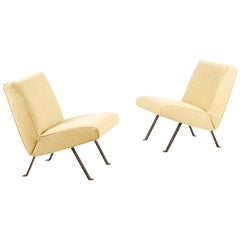 Joseph-André Motte, Pair of Lounge Chairs Model 740 for Steiner, 1957