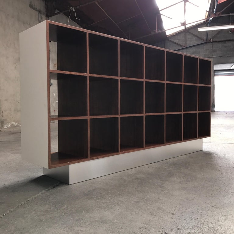 Mid-Century Modern Joseph-André Motte Rosewood Storage Cabinet, 1968 For Sale