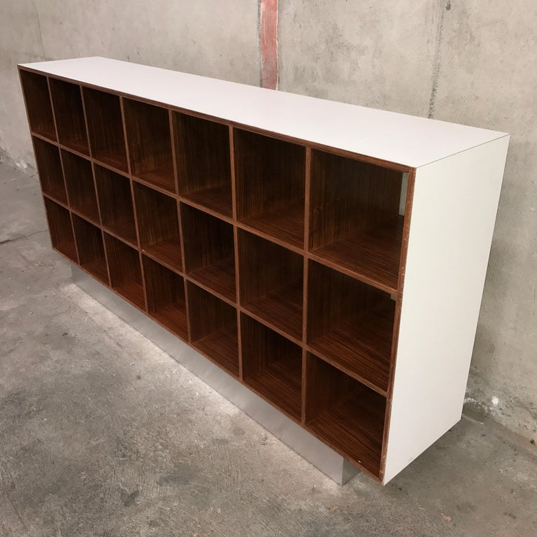 Mid-20th Century Joseph-André Motte Rosewood Storage Cabinet, 1968 For Sale