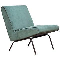Joseph Andre Motte Slipper Chair 743 for Steiner, France, 1950s