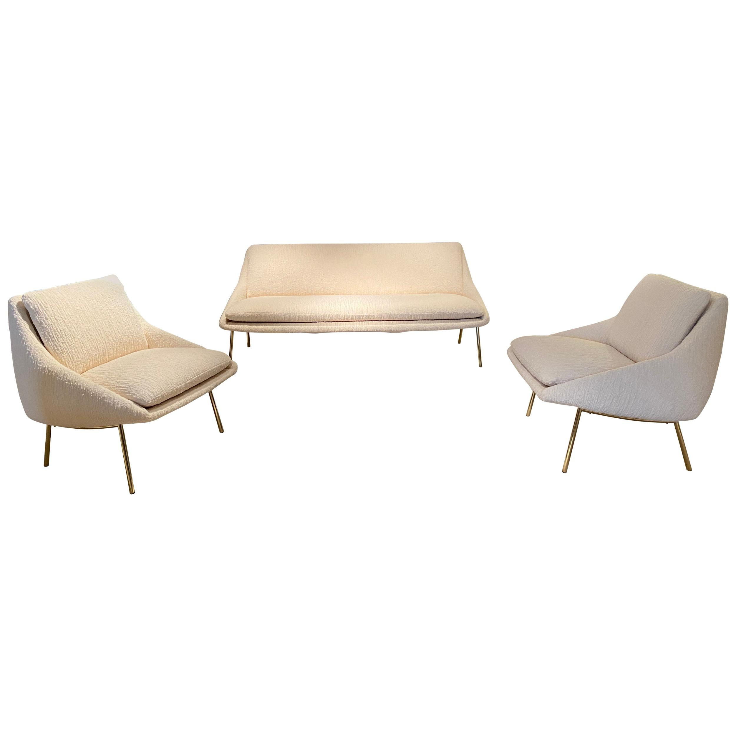 Joseph Andre Motte Sofa and Armchairs Set