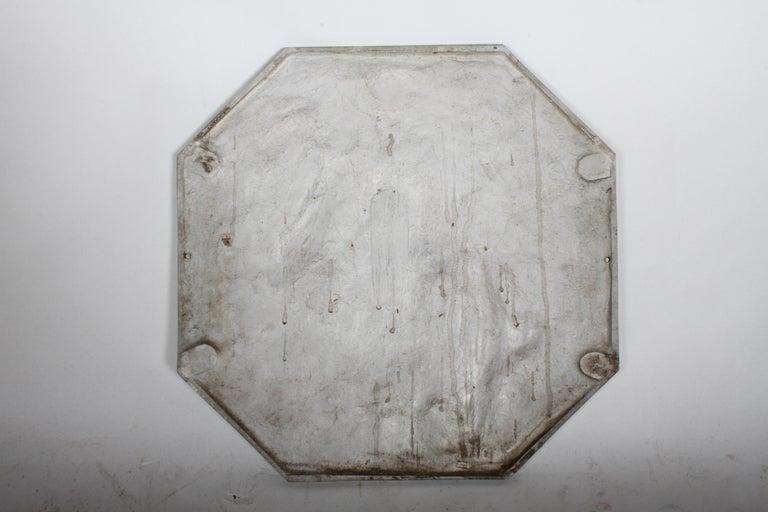 Aluminum Joseph Anthony Atchison Rare Art Deco Relief Panel