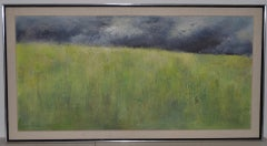 "Joseph Barber ""Wheatfield"" Original Oil Painting c.1960"