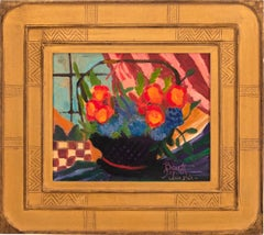"""Basket with Red Ribbon"""