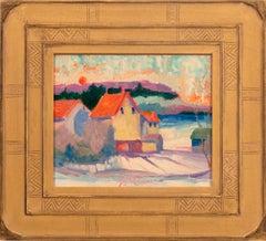 """""""Sunrise, Old Farm, Rushland"""""""