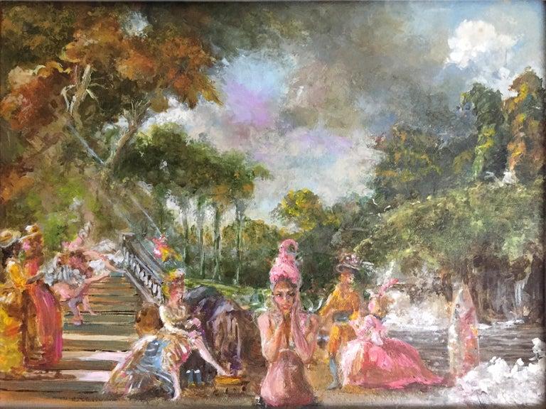Resurrection, (study) - Painting by Joseph Barron