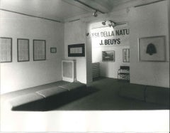 Beuys' Exhibition - Original Vintage Photo by Ruby Durini - 1084 ca.