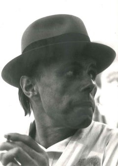 Beuys Portrait - 1970s - Joseph Beuys - Photo - Contemporary Art