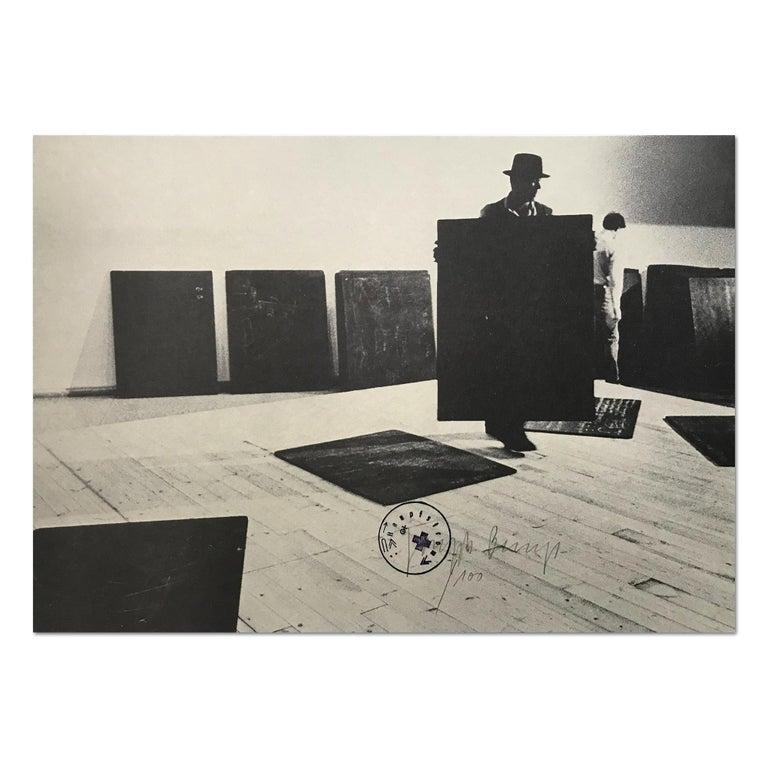 Aufbau, 1977, Conceptual Art, Fluxus, Modern Art, Neo-Dada, 20th Century Artist - Print by Joseph Beuys