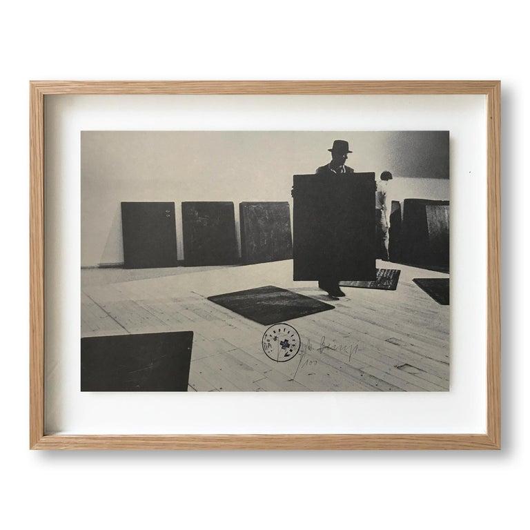 Joseph Beuys Abstract Print - Aufbau, 1977, Conceptual Art, Fluxus, Modern Art, Neo-Dada, 20th Century Artist