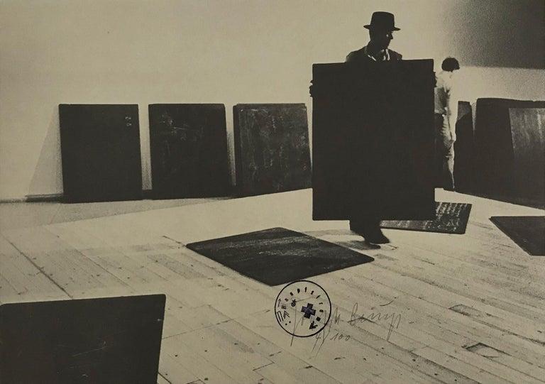 Joseph Beuys Print - Aufbau