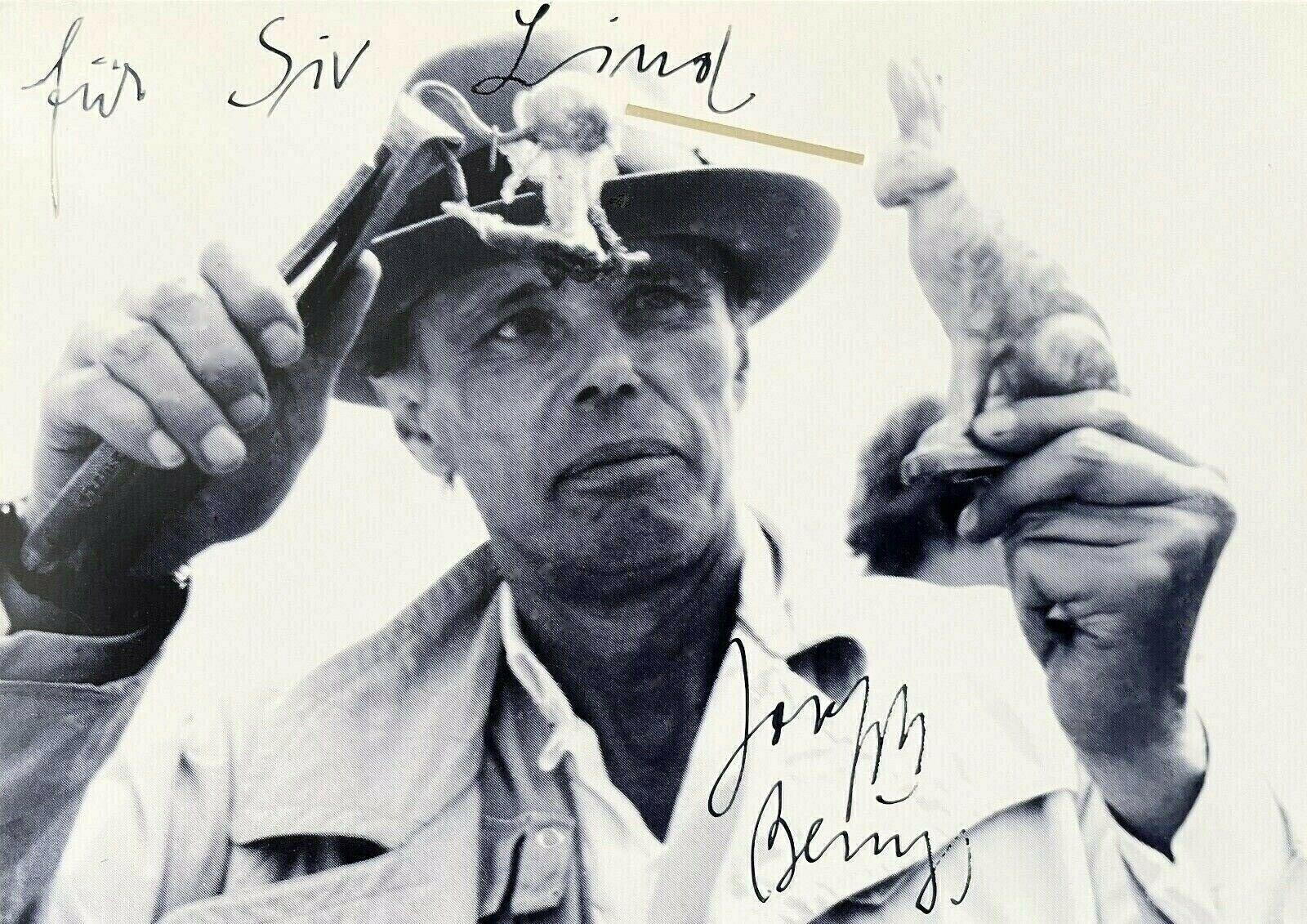 Untitled, Offset Lithograph, Signed in Ink, Joseph Beuys