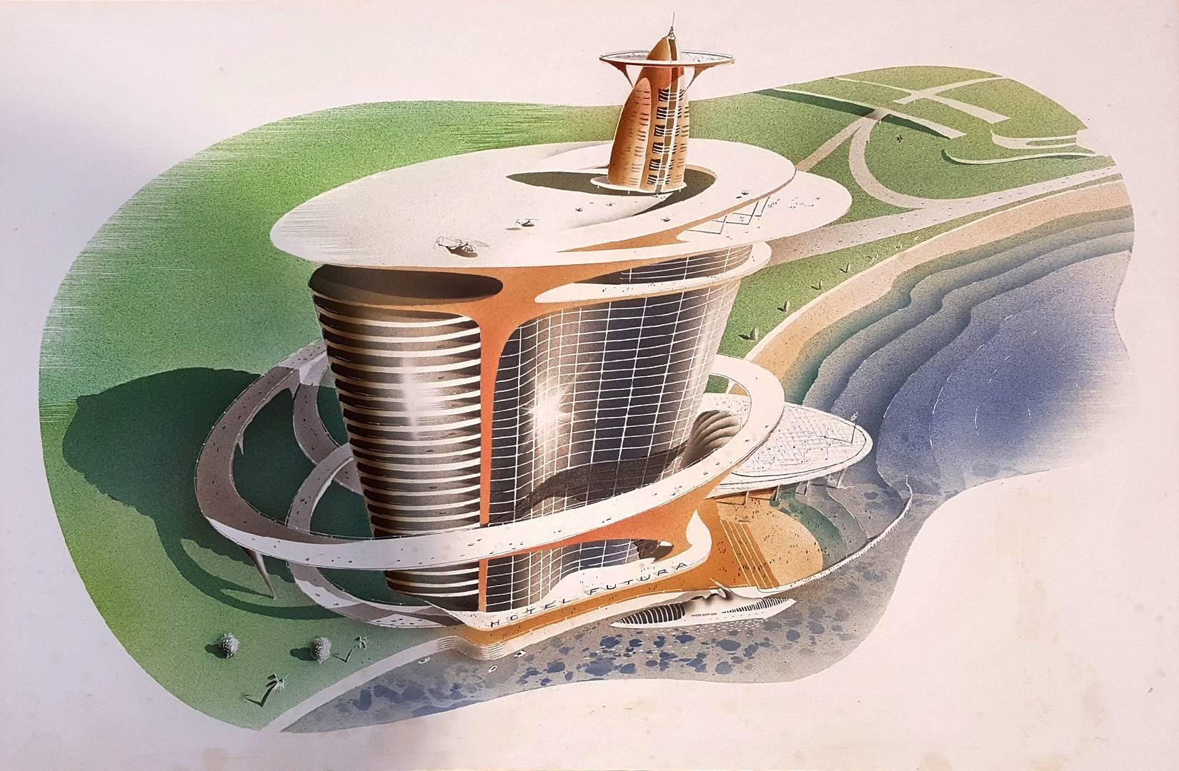 Hotel Futura  Illustration