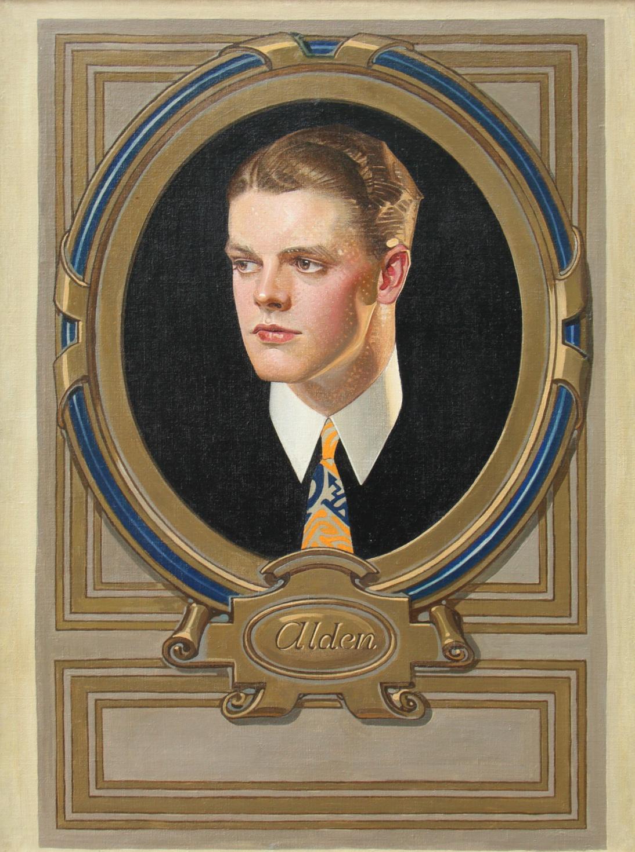Alden, Arrow Collar Advertisement, 1922