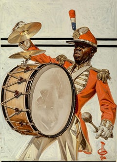 Drum Major, The Saturday Evening Post Cover