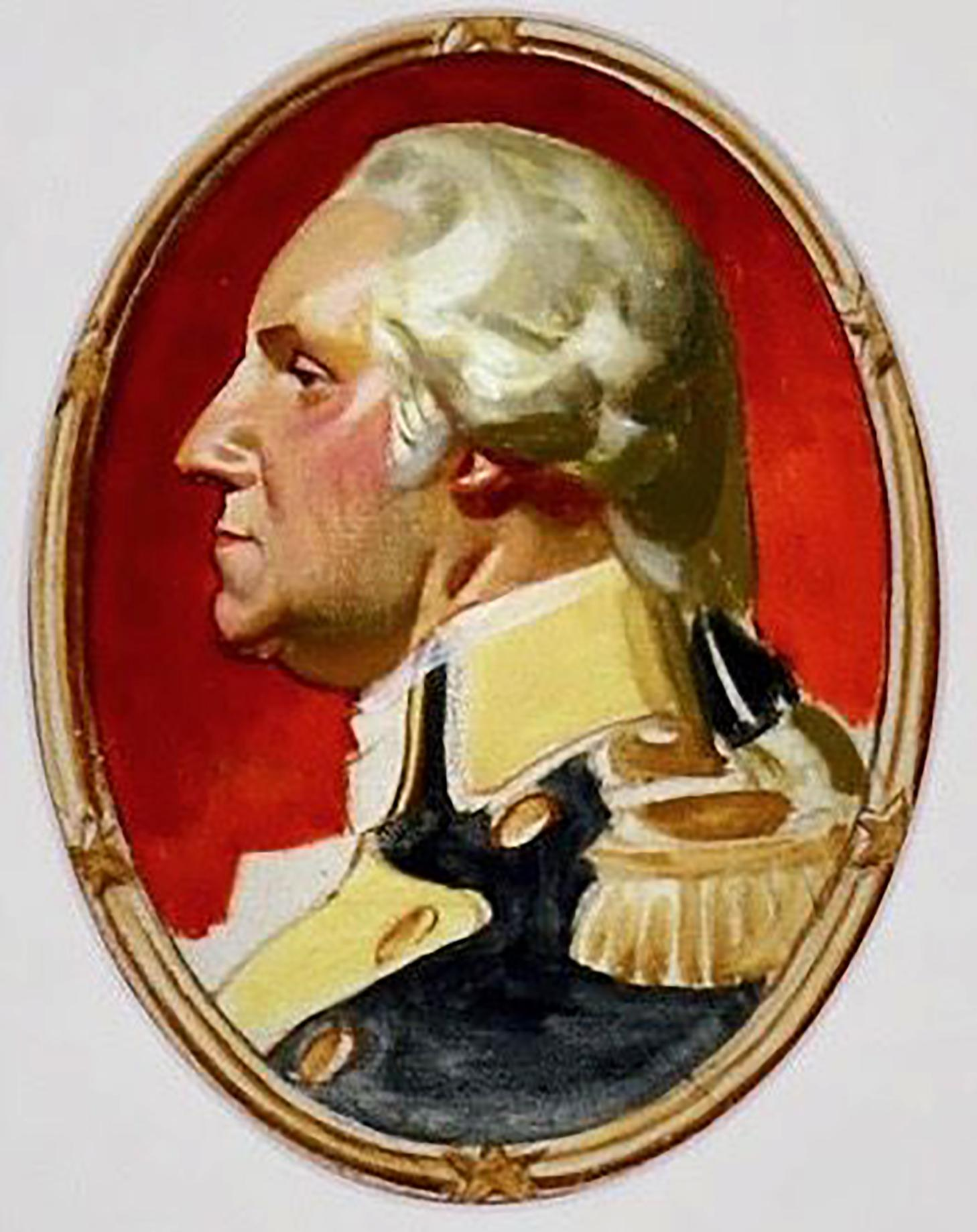 George Washington, Study for Saturday Evening Post Cover
