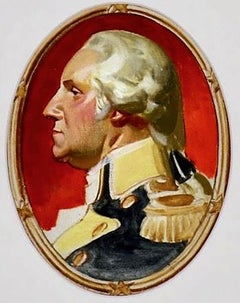 George Washington Study for Post Cover
