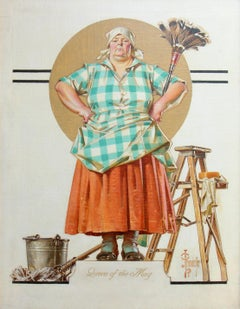 Queen of the May, Saturday Evening Post Cover