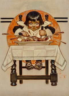 Thanksgiving, The Saturday Evening Post cover, November 12, 1910