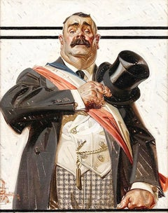 The Candidate, Saturday Evening Post Cover, 1917