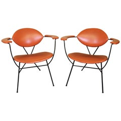 Joseph Cicchelli Designed Lounge Chairs for Reilly-Wolff