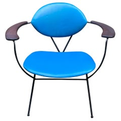 Joseph Cicchelli for Reilly-Wolff Iron Armchair
