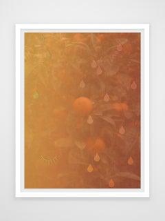 Oranges Drop Blossoms Tear