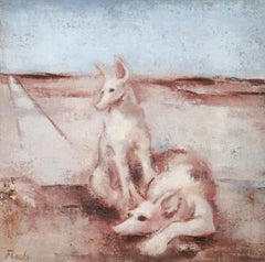 Deux Chiens (two dogs)