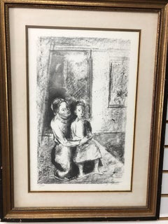 Joseph Floch Mother and Child