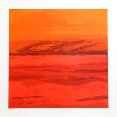 Canyon Series II, Abstract Silkscreen