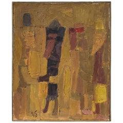 Joseph Halevi Oil on Canvas