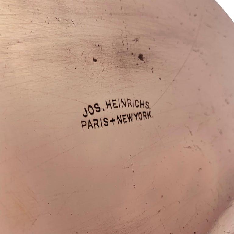 Bronze Joseph Heinrichs Copper Au Gratin Pan For Sale