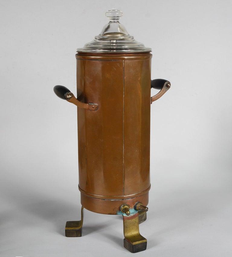 American Joseph Heinrichs Copper Coffee Set For Sale