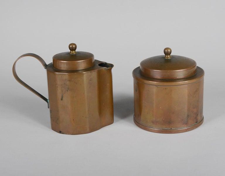 Joseph Heinrichs Copper Coffee Set For Sale 1