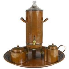 Joseph Heinrichs Copper Coffee Set