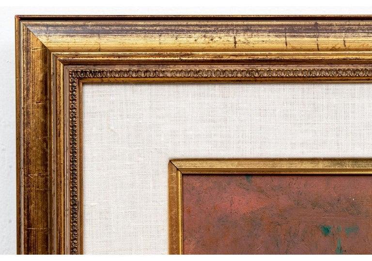 Joseph Hirsch Oil on Canvas, Scene with Semi Nude Female F For Sale 2