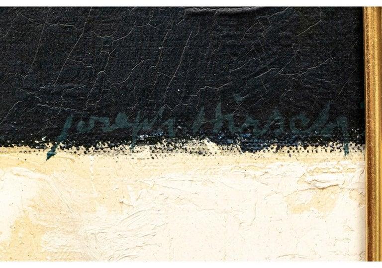 Joseph Hirsch Oil on Canvas, Scene with Semi Nude Female F For Sale 3