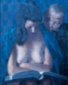 Encyclopedia, Oil Painting by Joseph Hirsch