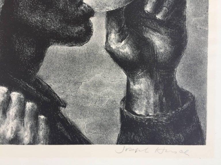 BANQUET - American Realist Print by Joseph Hirsch