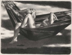 Hammock (A nude couple frolics in a hammock on a lazy summer day)