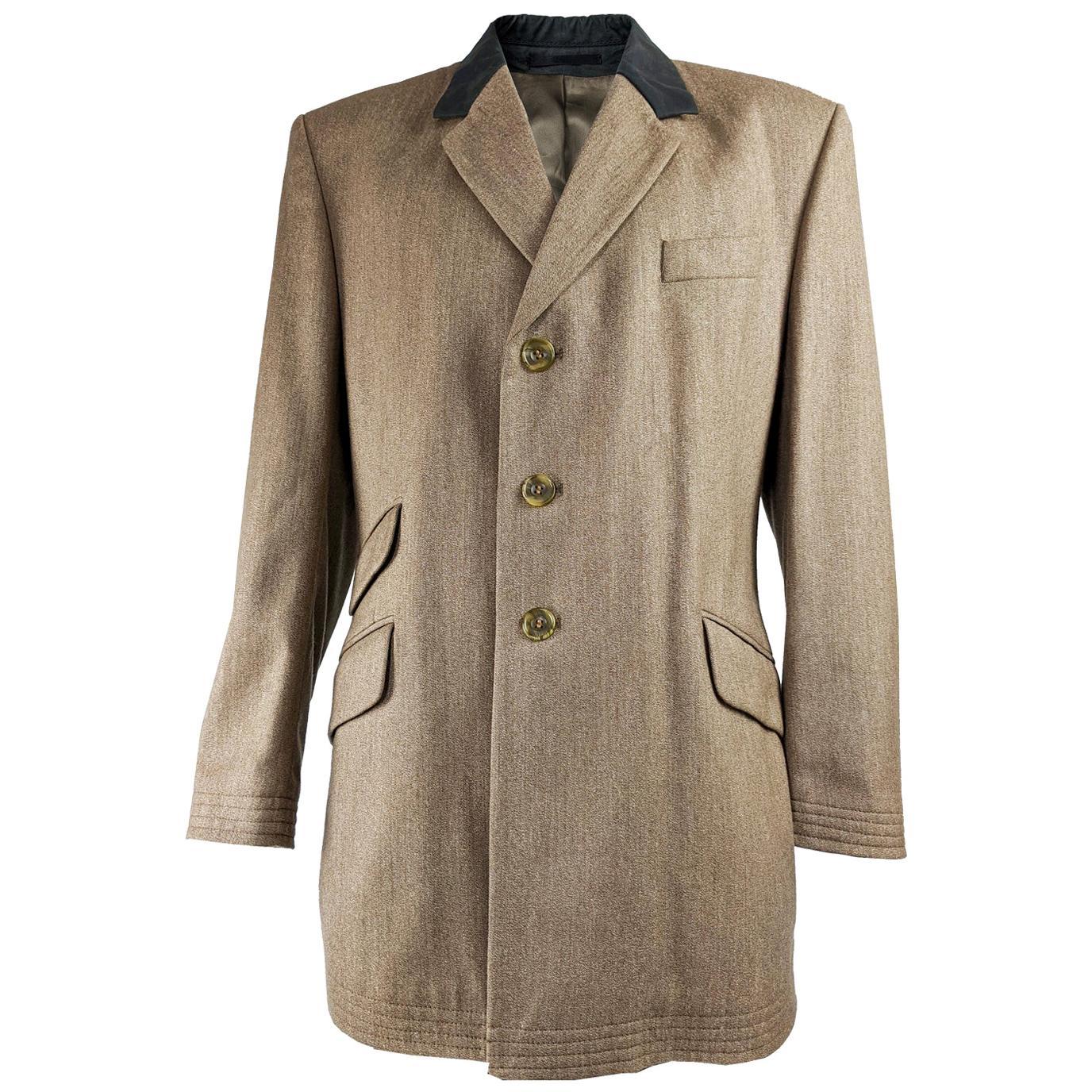 Joseph Homme Mens Vintage Chesterfield Coat