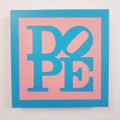 "Cheap Thrills, Hussy (P), 2018 , pink and blue dope,  Joseph ""JuJu"" Bottari"