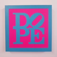 "Venice Beach (P), 2018, Dope in hot pink and neon blue by Joseph ""Juju"" Bottari"