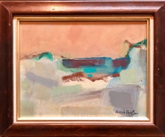 Abstract Expressionist Provincetown Seascape Oil Painting