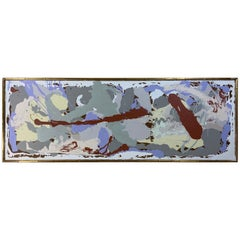 "Joseph Malekan "" Sideview 1 Abstract Mix Media"