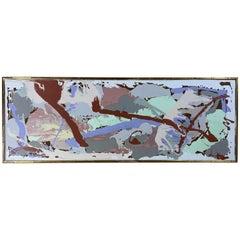 Joseph Malekan Side View 2 Abstract Mix-Media
