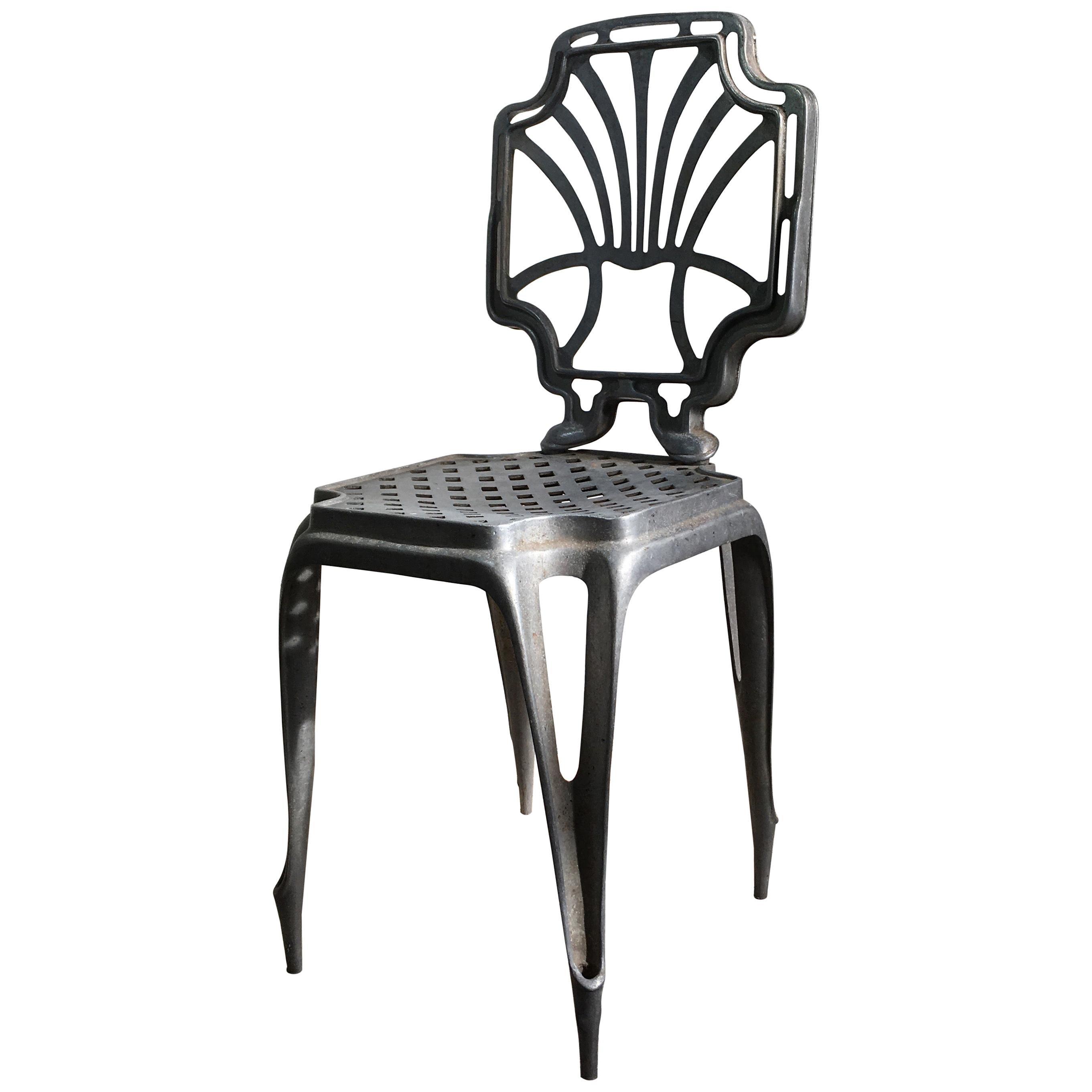 Joseph Mathieu Art Deco 'Multiples' Chair, 1920, France