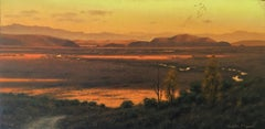 """Far Away,"" Oil Painting"