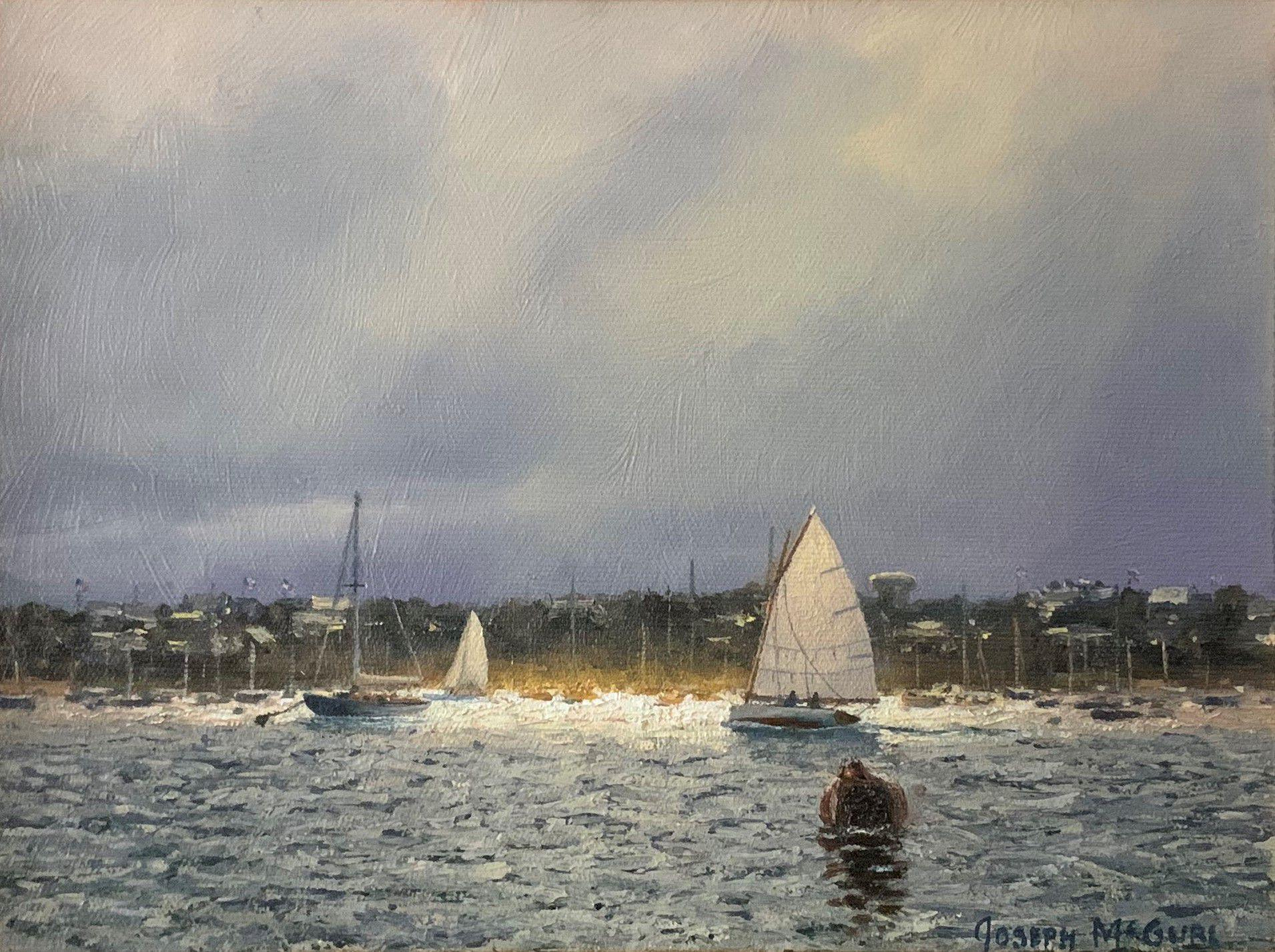 Field Study, Lifting Fog, Nantucket